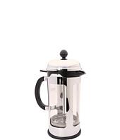 Bodum - Chambord Locking Lid 8 Cup French Press Coffeemaker with Bonus 4-Minute Timer