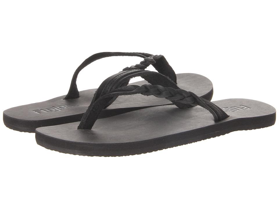 Flojos Lyneah Black Womens Sandals