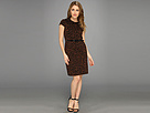 rsvp - Liza Belted Dress (Brown)