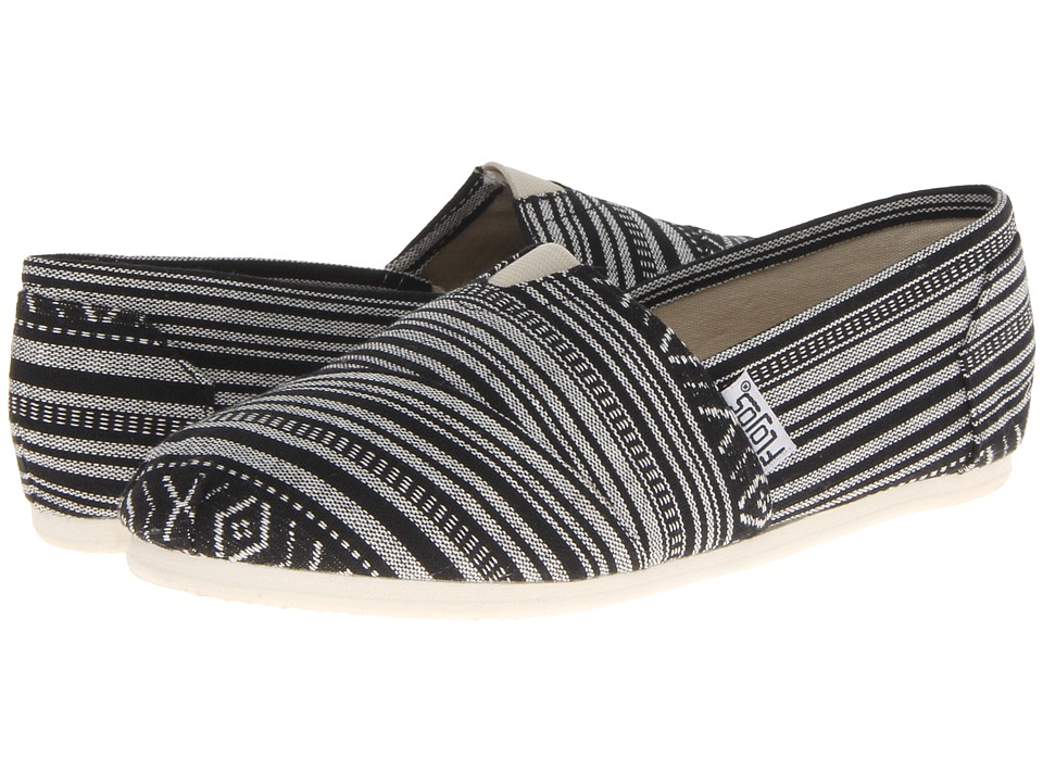 Flojos Anika Black/White Womens Sandals