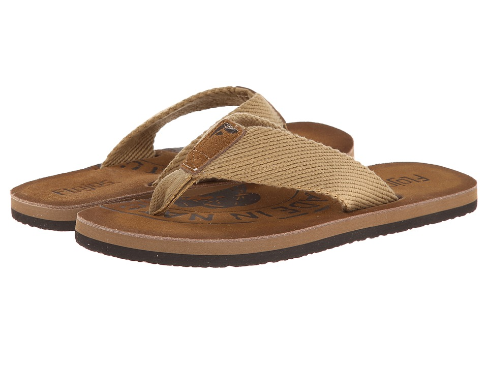 Flojos Natural Saddle Mens Sandals