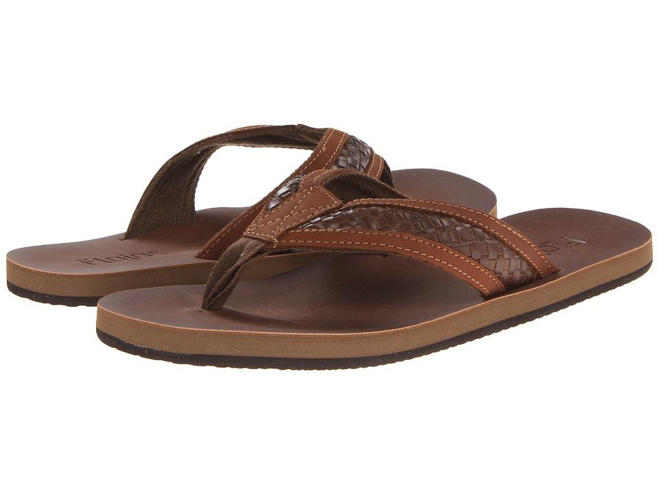 Flojos Brady Cognac Mens Sandals