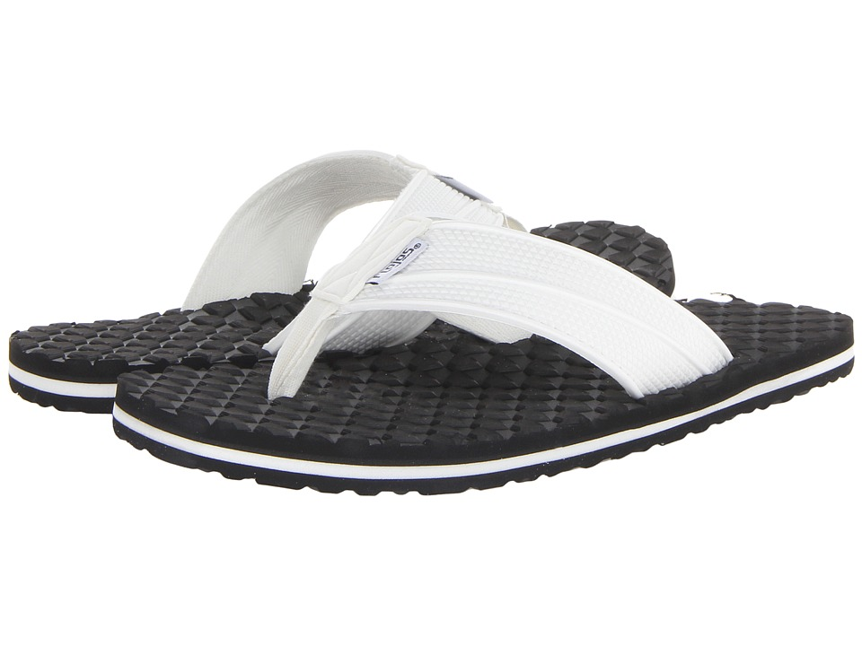 Flojos Badlands White Mens Sandals