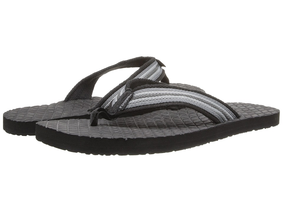 Flojos Archer Black/Grey Mens Sandals