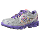 New Balance Kids KJ750 Little Kid, Big Kid Dark Grey, Purple Shoes