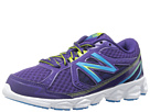 New Balance Kids KJ750 Little Kid, Big Kid Black Plum Shoes