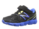 New Balance Kids KV750 Infant, Toddler Black, Blue Shoes