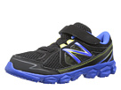 New Balance Kids KV750 Little Kid Black, Blue Shoes