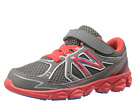 New Balance Kids KV750 Little Kid Grey, Red Shoes