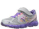 New Balance Kids KV750 Infant, Toddler Dark Grey, Purple Shoes