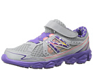 New Balance Kids KV750 Little Kid Dark Grey, Purple Shoes
