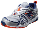 New Balance Kids KJ696 Infant, Toddler White, Vision Blue Shoes