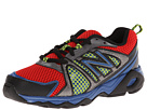New Balance Kids KJ696 Little Kid, Big Kid Red, Black Shoes