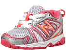 New Balance Kids KJ696 Infant, Toddler Pink, Multi Shoes