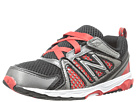 New Balance Kids KV696 Infant, Toddler Black, Red Shoes