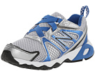 New Balance Kids KV696 Little Kid, Big Kid Silver, Blue Shoes