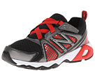 New Balance Kids KV696 Little Kid, Big Kid Black, Red Shoes