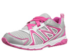 New Balance Kids KV696 Infant, Toddler Silver, Pink Shoes