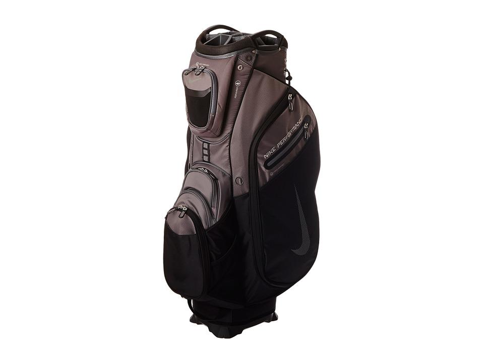 Nike Golf - Performance Cart II Bag (Black/Dark Grey) Duffel Bags