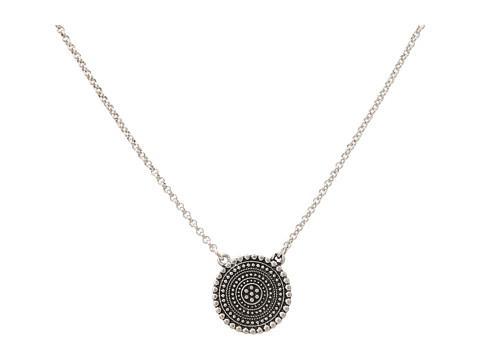 Lucky Brand Indigo Trail Tribal Pendant Necklace - Silver