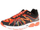 New Balance M890v4 Orange, Black Shoes