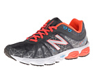 New Balance W890v4 Fiery Coral, Grey, Black Shoes
