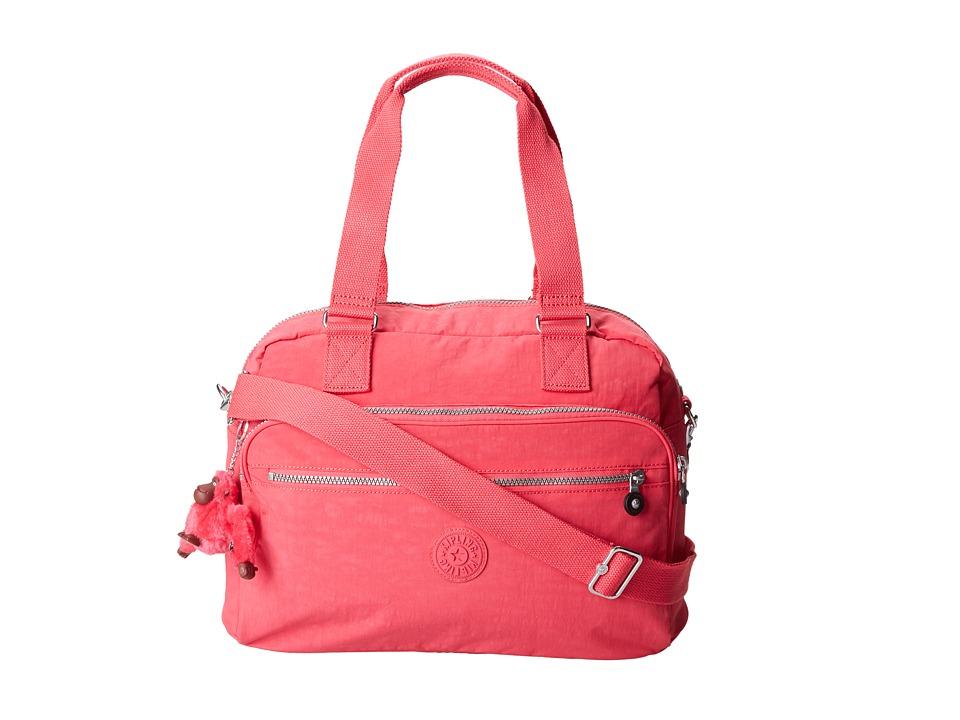 Kipling New Weekend Bag Vibrant Pink Bags
