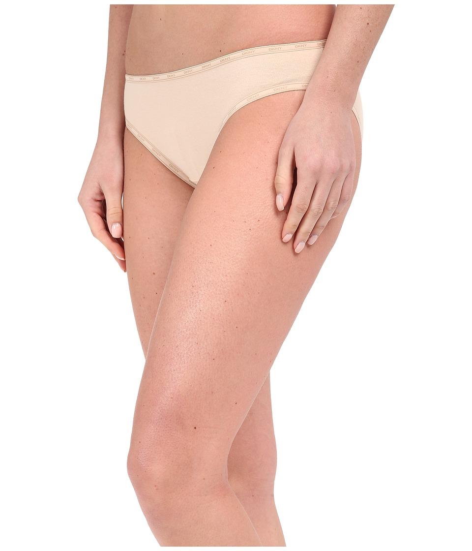 DKNY Intimates Comfort Classics Bikini Panty Dark Pretty Nude/Skinny Dip Womens Underwear