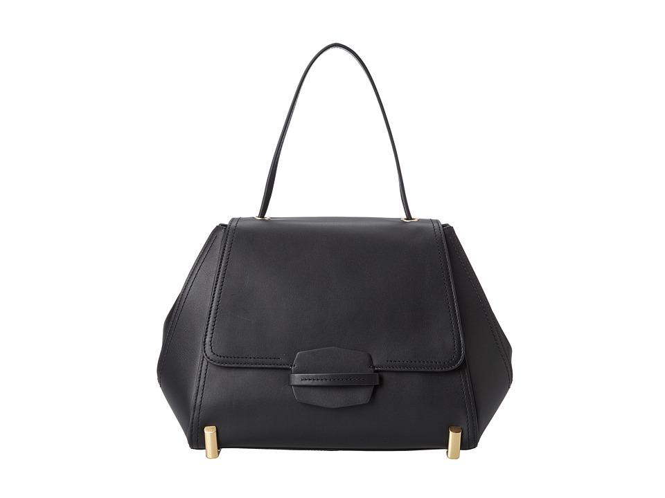 ZAC Zac Posen - Daphne Shoulder (Black) Shoulder Handbags