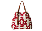 Lucky Brand - Covina Tote (Natual/Cayenne) - Bags and Luggage