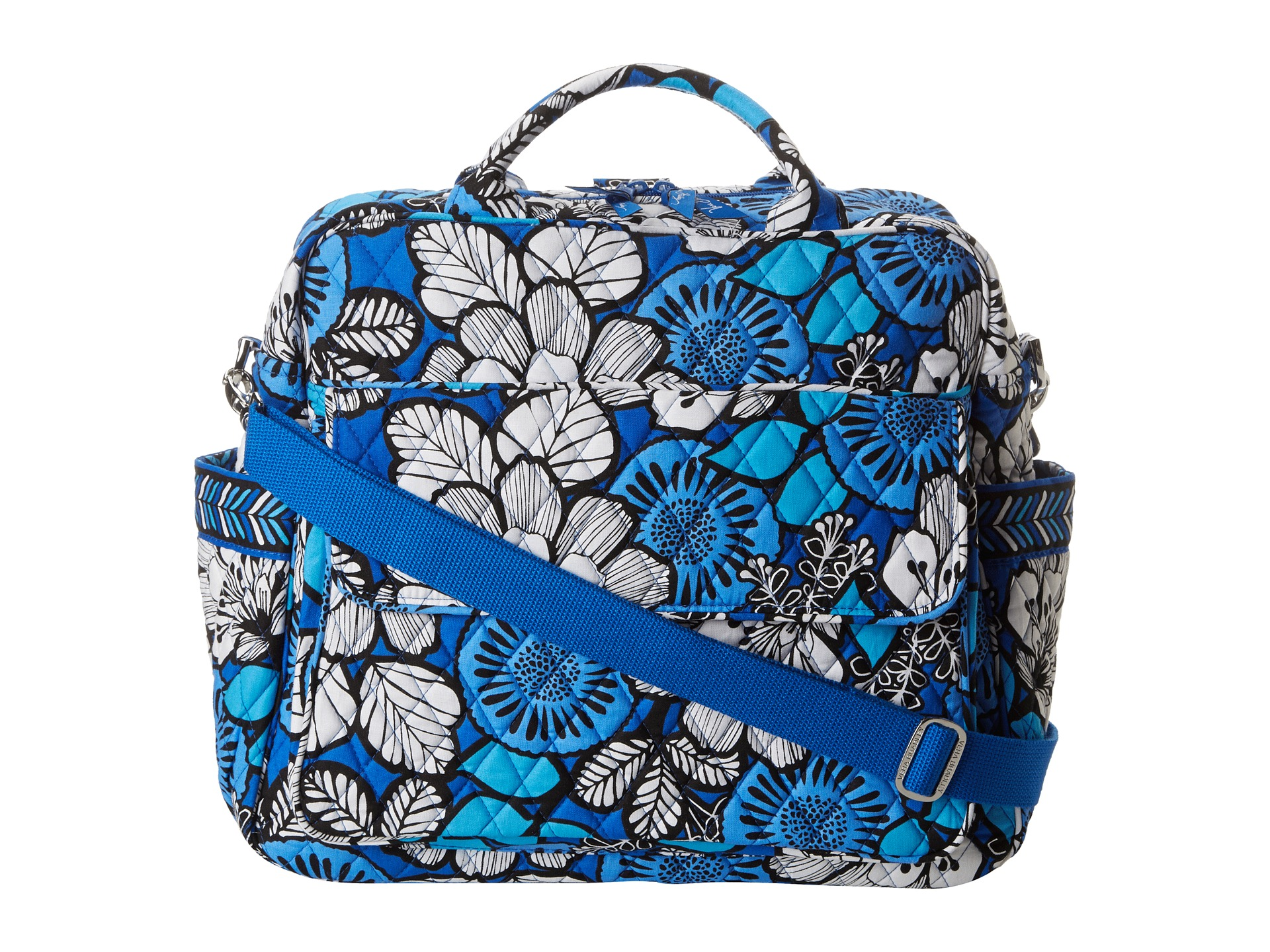 vera bradley convertible baby bag blue bayou shipped free at zappos. Black Bedroom Furniture Sets. Home Design Ideas