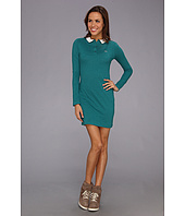 Lacoste - L!VE L/S Lace Collar Polo Dress