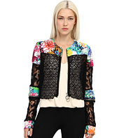 Just Cavalli - Mixed Print Crop Moto