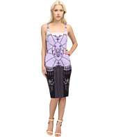 Versace Collection - Printed Sheath Dress