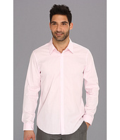 Calvin Klein - Yarn Dye Mini Stripe Poplin L/S Button Down Shirt