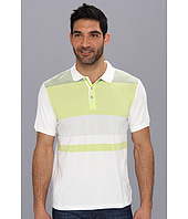 Calvin Klein - 30s Pique Engineer Stripe Polo