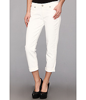 Paige - Jimmy Jimmy Skinny Boyfriend Crop in Optic White
