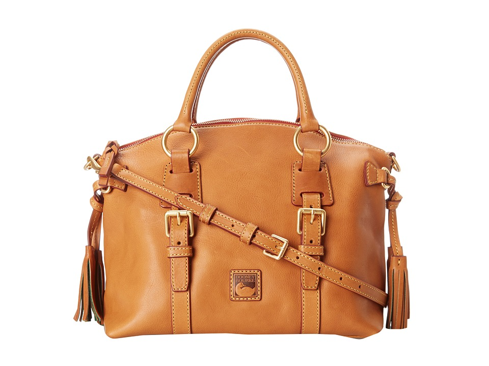 Dooney & Bourke - Florentine Bristol Satchel (Natural) Satchel Handbags