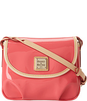 Dooney & Bourke - Patent Flap Pleated Crossbody