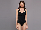 KAMALIKULTURE - Halter Sweetheart Mio Swimsuit (Black)