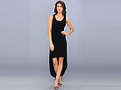 KAMALIKULTURE - Sleeveless Tank High-Low Dress (Black)