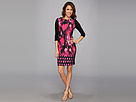 Elie Tahari - Angie Dress ED028603 (Motion Magenta) - Apparel