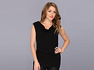 Elie Tahari - Martha Knit Top (Black) - Apparel