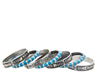 Gypsy SOULE - Tribal 7 Bangle Set (Silver/Turquoise)