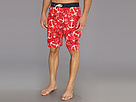 Sperry Top-Sider - Holding Steady E-Boardshort w/ Liner (Ribbon Red) - Apparel