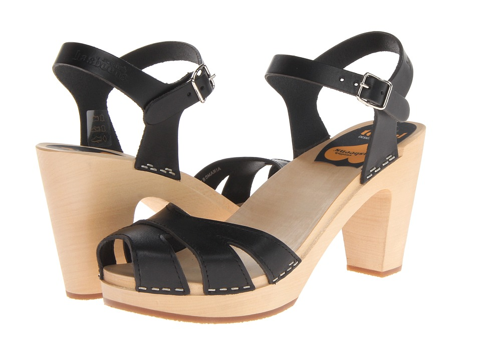 Swedish Hasbeens Suzanne (Black) High Heels