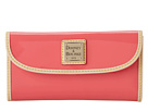 Dooney & Bourke Patent Continental Clutch
