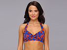 KAMALIKULTURE - Sweetheart Swim Bra (Lobster-Red/Blue)