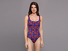 KAMALIKULTURE - U Tank Mio Swimsuit (Lobster-Red/Blue)