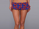 KAMALIKULTURE - Ruffle Swim Bottom (Lobster-Red/Blue)